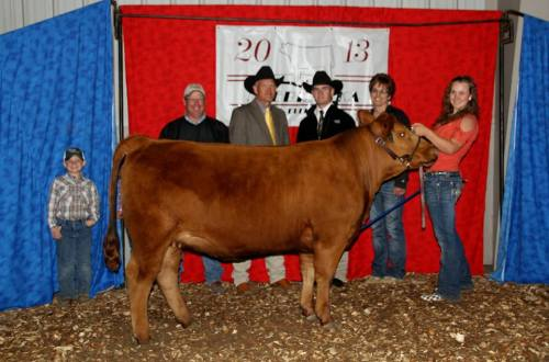 High Percentage Supreme Reserve Champion at Nebraska Junior Beef Expo