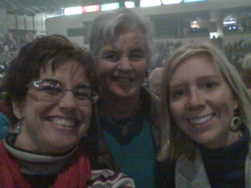 My Mom, sis-in-law, and I at a Manheim Steamroller concert; enjoying some culture!